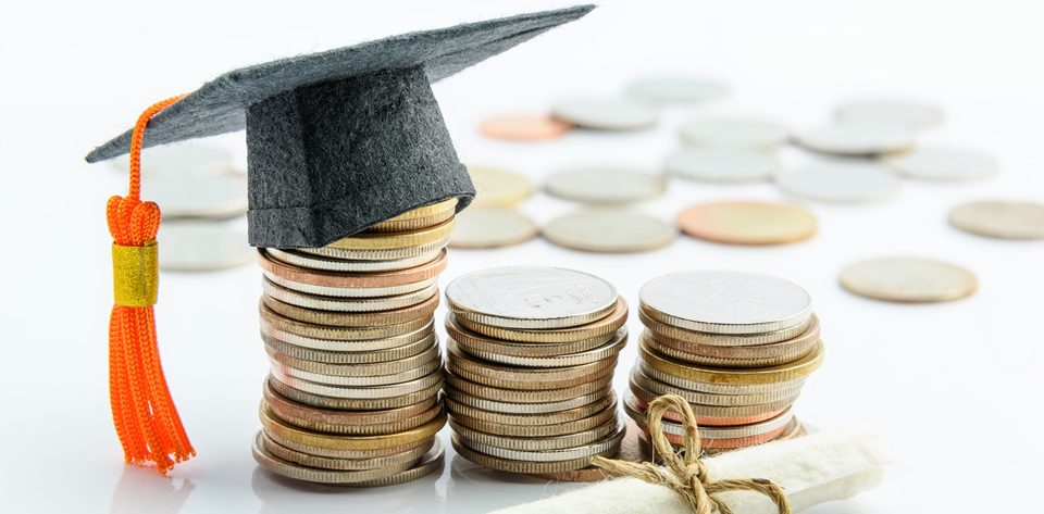 Handling deductions for self education expense